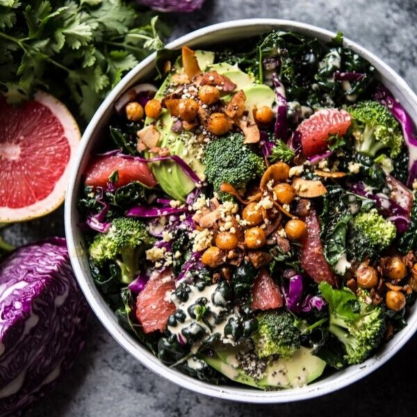 Kale is such a versatile ingredient, and today we're celebrating that with 15 easy kale recipes you'll crave! With green smoothies, kale salads, kale chips, and more. Vegan and gluten-free!