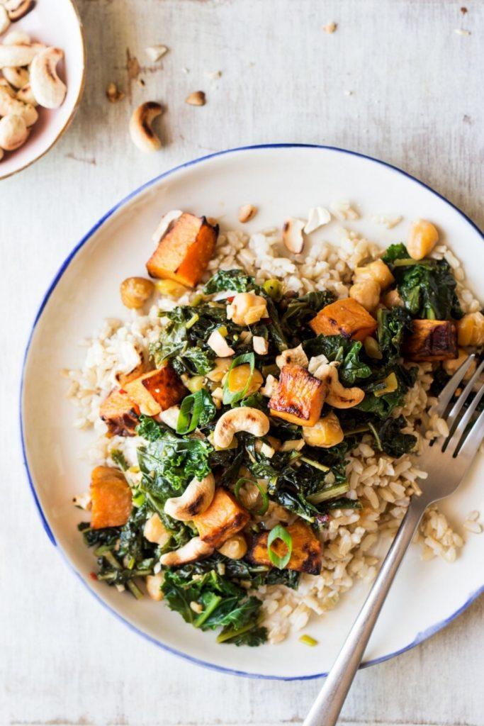 healthy kale recipe