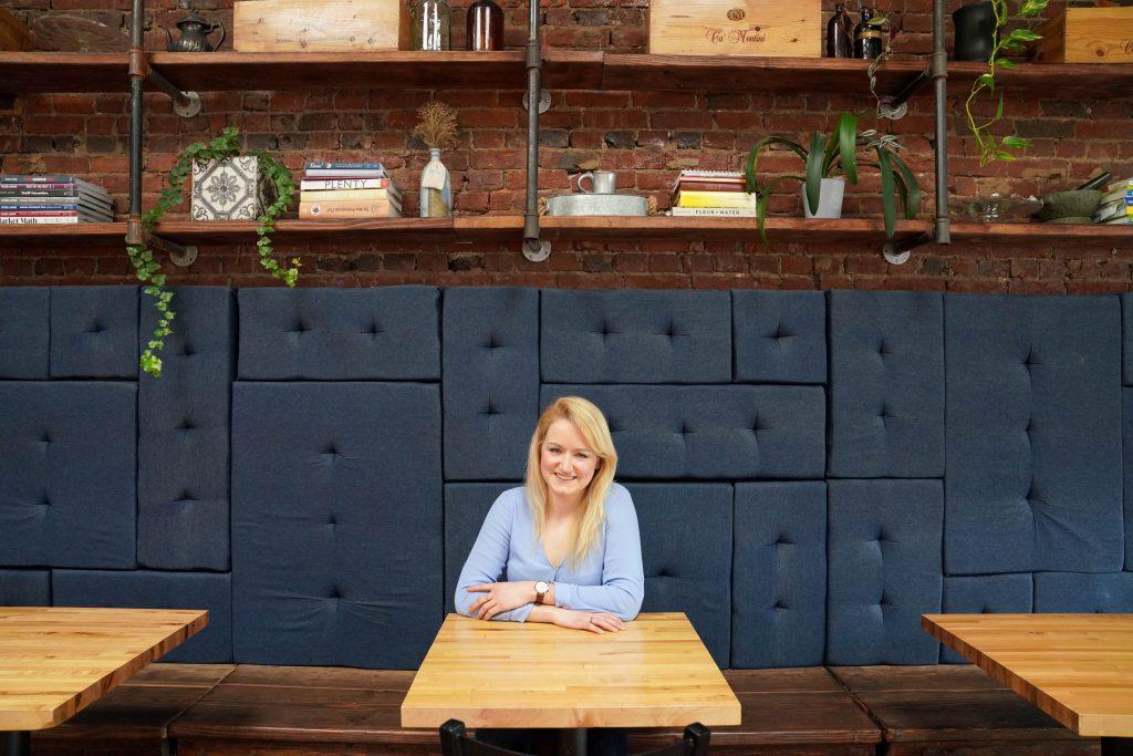 Emily, founder of Garlic Head