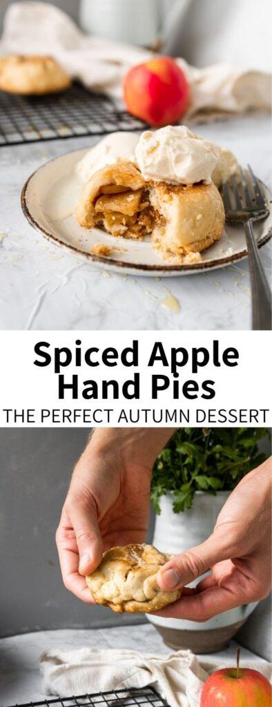 Vegan Apple Hand Pie Long pin