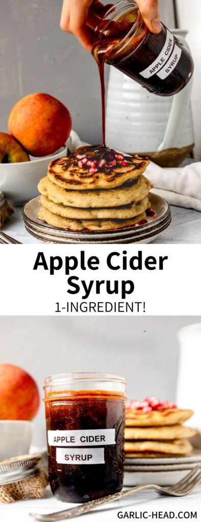Boil up some cider to make Apple Cider Syrup! This simple recipe requires just one ingredient for a fall-inspired breakfast treat. Pour it over pancakes, add it to oatmeal, swirl into a latte...the possibilities are endless!